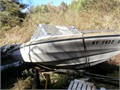 1972 Glastron V163 Bowrider boat with trailer