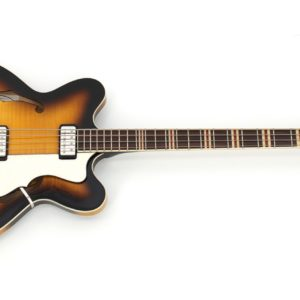 HCT-500/7 Verythin Bass in sunburst.